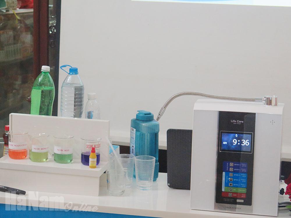Khai trương Đại lý phân phối máy điện giải tạo nước Ion kiềm tại Hà Nam